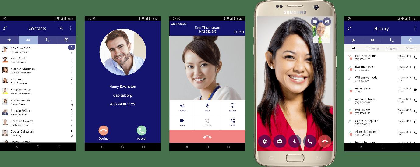 NEC SV9100 Phone System - Smart Phone App for SV9100 - ST500 App