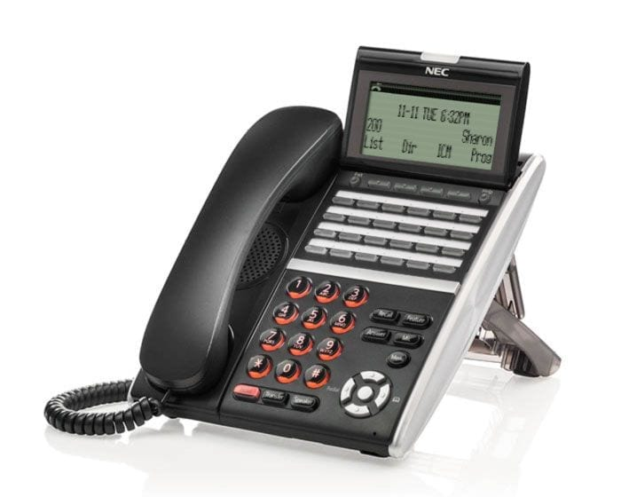 Pyer Phone Systems Melbourne - NEC DT800 IP Phones - NEC SV9100 Model DT830 Handset