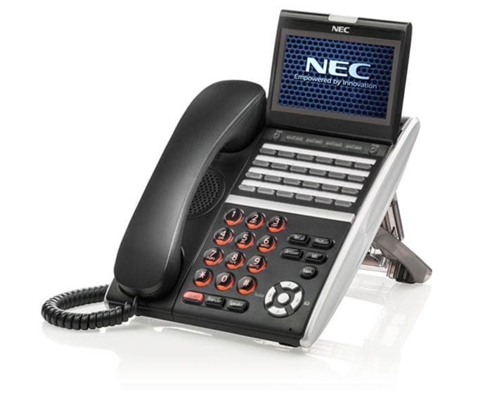 Pyer Phone Systems Melbourne - NEC DT800 IP Phones - NEC SV9100 Model DT830CG Handset