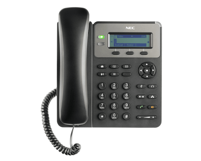 Pyer Phone Systems Melbourne - NEC GT210 - NEC SV9100 Model GT210 Handset - SIP Desktop Telephone