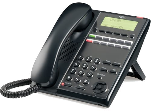 Pyer Phone Systems Melbourne - NEC SL2100 Digital 24 Button handset