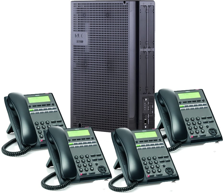 Pyer Phone Systems Melbourne - NEC SL2100 PBX System and Handsets