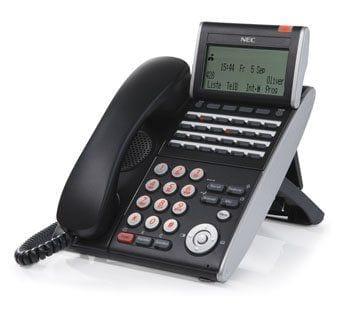 Pyer Phone Systems Melbourne - NEC dterm dtl 24d Black Handset