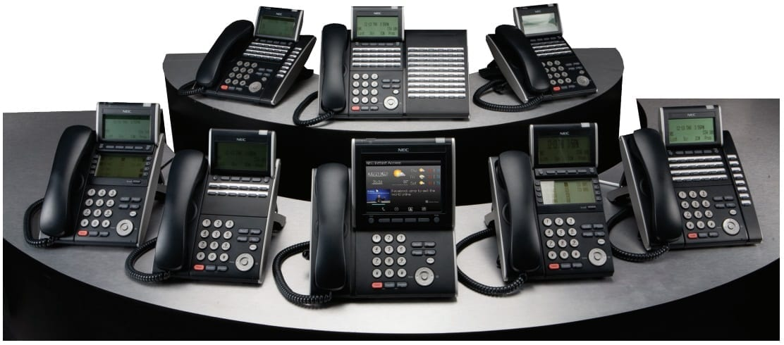 NEC 8100 Handset - DT310 DT330, DT710, DT 730 - Desktop IP and Digital Terminals