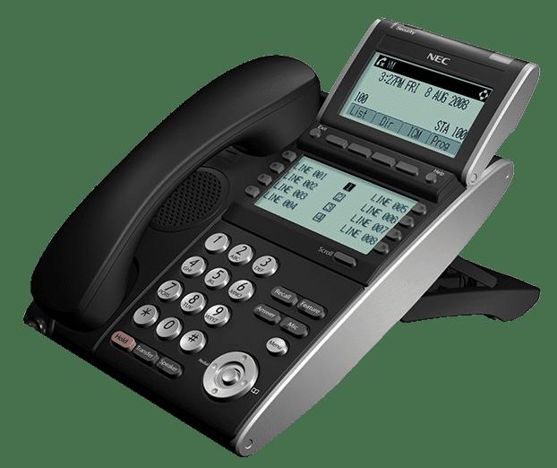 NEC HANDSET - NEC DT730 Duel Screen - Duel LCD Handset