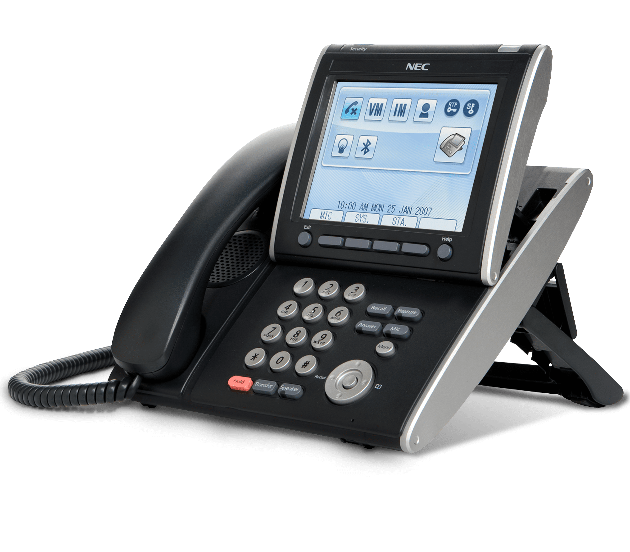 NEC Handset - NEC DT750 - Nec Touch screen IP Phone